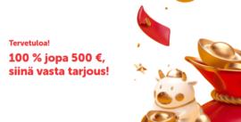 Koi Casinolta ensitalletukselle 500€ bonus