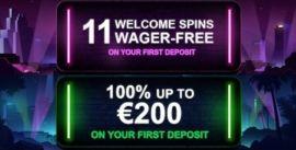 Mr Vegas Casino: 200€ bonus ja ilmaiskierroksia ilman talletusta